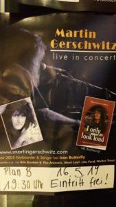 Martin Gerschwitz live in concert im Plan B @ Plan B